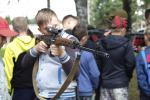 Рагачоўскія школьнікі правялі ліпеньскія дні ў ваенна-спартыўным лагеры