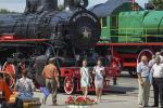 В Бресте торжественно открыли музей железнодорожной техники