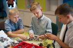 На Міншчыне набірае абароты ўнікальны праект «Мабільны STEM-клас»