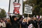 У Польшчы прайшлі пратэсты жанчын супраць забароны абортаў