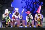 Театр кукол ставит сказку братьев Гримм