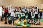 Наваполацкая школа №12 перамагла ў конкурсе «Героям спяваць лёгка»