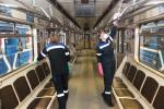 В Минске проводят дезинфекцию общественного транспорта и подъездов