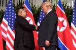 Дональд Трамп сустрэўся з Кім Чэн Ынам