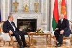 Лукашэнка: Мы заўсёды гатовыя адкрыць дзверы для Арменіі