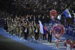 Как представлены сборные России и Армении, а также их болельщики на ІІ Европейских играх