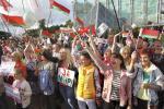 У сталіцы прайшоў мiтынг «Жанчыны за адзiнства i мiр»
