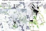 Черные следы на карте Минска