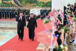 Сі Цзіньпін правёў перамовы з Кім Чэн Ынам