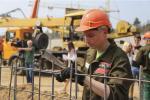 Як студэнтам БНТУ працуецца ў будаўнічых студатрадах?