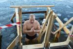 Зімовае купанне ў Ліепаі