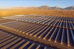 Геліаэлектрастанцыя ў пустыні Гобі