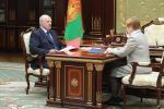 Президент провел рабочую встречу с председателем Центризбиркома
