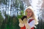 100 тысяч деревьев посажено волонтерами за один день!