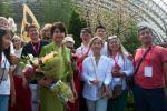 У Віцебску адкрылі іменную зорку Розы Рымбаевай