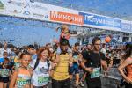 Каля 35 тыс. удзельнікаў выйшлі на старт чацвёртага Мінскага паўмарафону