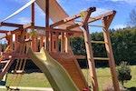 Деревянные игровые площадки VikingWood для детей — экологично и безопасно*