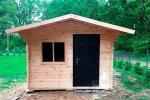 Построить недорогой дачный домик за 2-3 дня? Это легко!*