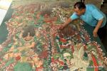 Древние фрески на бумаге