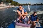 Корреспонденты «Звязды» отправились в рейд по Комсомольскому озеру