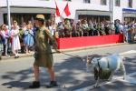 Реконструкция партизанского парада 1944 года прошла в Минске