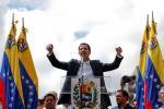 Лідар апазіцыі Венесуэлы абвясціў сябе прэзідэнтам. Яго прызнаў Трамп
