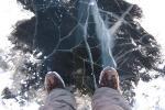 На тэрыторыі сталічнага рэгіёна на лёд выходзіць нельга
