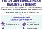 У Беларусі павышаецца бюджэт пражытачнага мінімуму