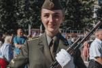 На военный факультет БГУИР впервые зачислили девушек
