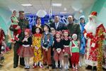 Гродненские военные вручили подарки детям из приюта