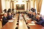 Ряд встреч прошел в белорусском парламенте