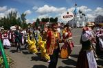 У Паставах распачаўся фестываль «Звіняць цымбалы і гармонік»