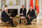 Аляксандр Лукашэнка сустрэўся з кіраўнікамі Аўстрыі і Германіі
