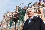 Скульптуру слана Сальвадора Далі ўсталявалі на Зыбіцкай