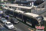 У Шэньчжэне запушчана першая трамвайная лінія