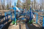 У Мiнскiм раёне наводзяць парадак на могiлках талакой