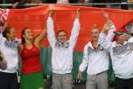 Беларускі абыгралі швейцарак з лікам 3:2 у паўфінале Кубка Федэрацыі