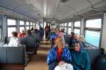 В поездах для пенсионеров по возрасту предусмотрена 50%-я скидка на проезд