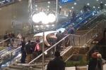 На второй этаж минского ж/д вокзала притащили «Москвич».