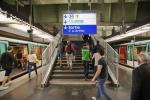 В парижском метро совершено нападение с применением кислоты
