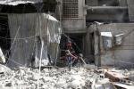 Пад Дамаскам у выніку авіяналёту загінулі каля ста чалавек