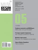 Маладосць - 05.2018