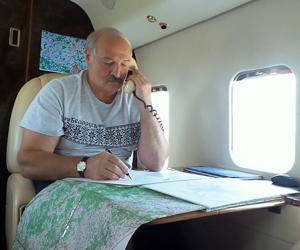 У выхадныя Прэзідэнт пабываў з рабочай паездкай на Віцебшчыне