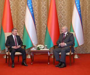 Лукашэнка: Беларусь зацікаўлена дзяліцца тэхналогіямі з Узбекістанам