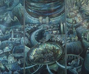 Легенды ў палотнах, палотнаў i арт-тусоўкi ў сталiчнай прасторы