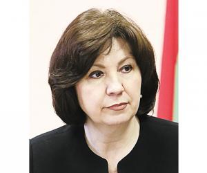 Наталля Качанава, кіраўнік Адміністрацыі Прэзідэнта