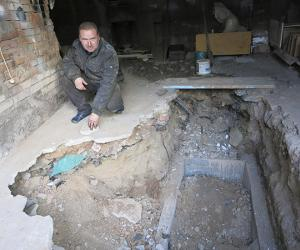 Жыхар Магілёва знайшоў пад сваім гаражом чалавечыя косці