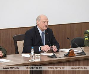 Лукашэнка: Беларусь не адступіць ад рэалізацыі мірнай знешняй палітыкі