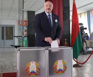 Аляксандр Лукашэнка: Гэта адна з самых складаных выбарчых кампаній