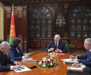 Лукашэнка разлічвае на хуткае аднаўленне эканомікі Беларусі пасля адкрыцця сусветных рынкаў